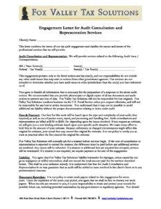 Engagement-Letter-for-Audit-Services-pdf-232x300 Engagement Letter for Audit Services tax preparation 60174